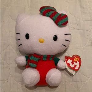 Authentic ty brand hello kitty stuff toy